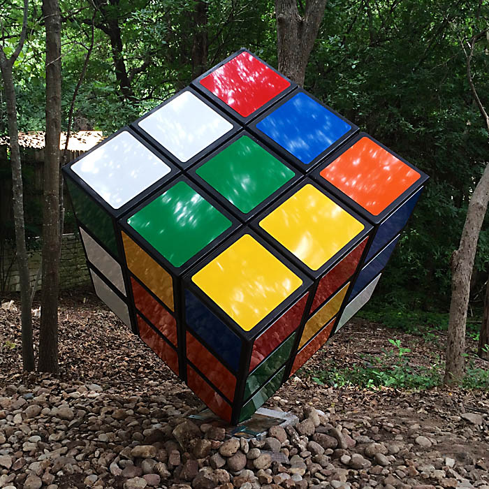 giant rubik 39 s cube ryan day studios. Black Bedroom Furniture Sets. Home Design Ideas